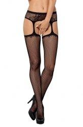 Pończochy S232 Garter stockings Obsessive WYSYŁKA 24H