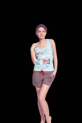 Piżama damska Esotiq Marisa 31231 -50X
