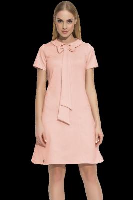 Sukienka M351 Makadamia