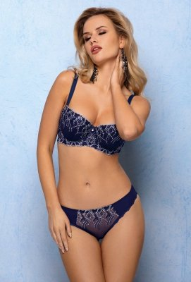Stringi Vena Navy Glam VS-370 Granatowe