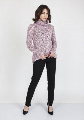 Sweter damski MKM Nicola SWE 103 Różowy