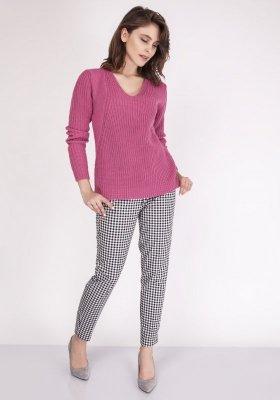 Sweter damski MKM Victoria SWE 123 Różowy