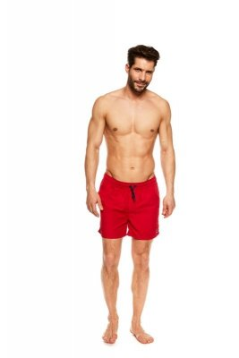 Szorty kąpielowe Henderson King 36841-33X Czerwone