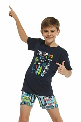 Piżama chłopięca Cornette 789/85 Surfer