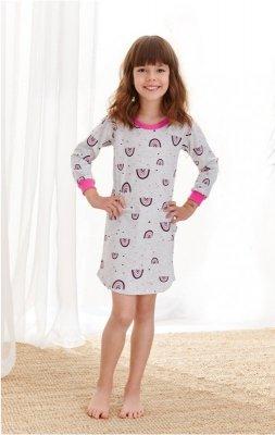 Koszula nocna dziewczęca Taro Malina 1014 104-140