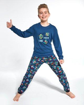 Piżama chłopięca Cornette Young Boy 966/102 Cube Master 134-164