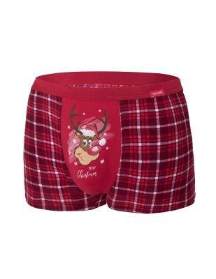 Bokserki męskie Cornette 007/58 Reindeer 2 Merry Christmas