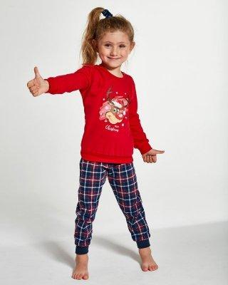 Piżama dziewczęca  Cornette Young Girl 592/130 Reindeer 134-164