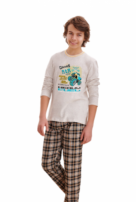 Piżama chłopięca Taro Leo 2339 146-158 Z'20