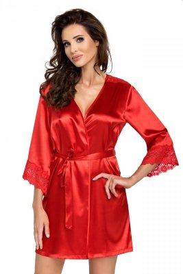 Szlafrok Eva czerwony Donna