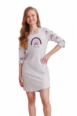 Koszula nocna dziewczęca Taro Mocca 2452 146-158 Z'20