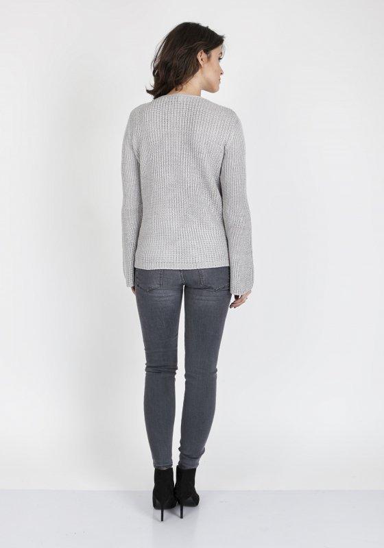 Sweter MKM Kylie SWE 117 Szary
