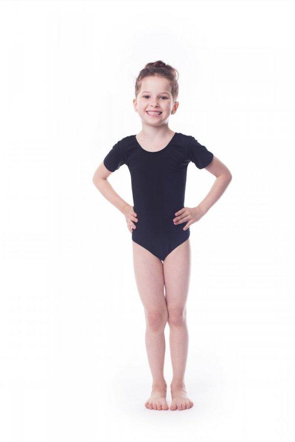 Body gimnastyczne bawełna (B1) krótki rękaw Shepa