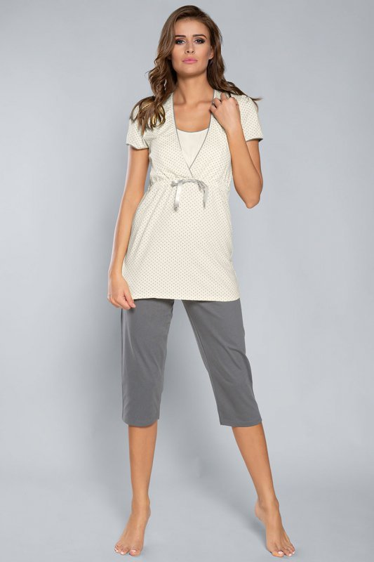 Piżama damska Italian Fashion Felicita kr.r. sp.3/4
