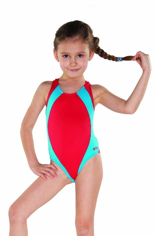 Kostium kąpielowy dziewczęcy Shepa 009 (B6D8)
