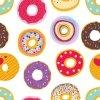 Otulaczx bambusowy, pączki, donuts,120x120