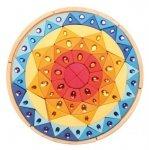 Słoneczna błyszcząca mandala 3+, Grimm's