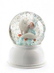 Djeco, lampka nocna , kula śnieżna, Lila & Pupi