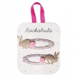 Rockahula Kids, spinki do włosów, Rabbit Gold