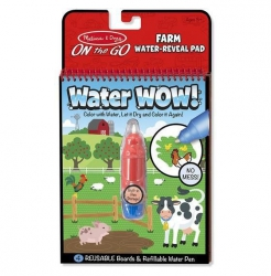 Melissa and Doug, wodna kolorowanka, Water wow, farma