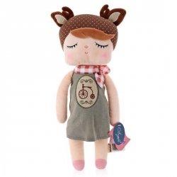 Metoo, lalka w sukience z rowerkiem, 30cm