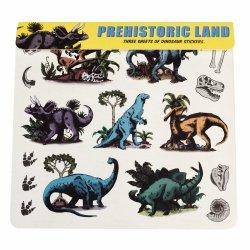 Rex london, zestaw naklejek z dnozaurami