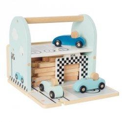 Jabadabado, drewniany tor wyścigowy z autkami,