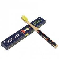 Rex, bambusowa szczoteczka do zębów dla dzieci, rakiety