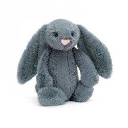 Jellycat, królik Bashful Dusky Blue 31cm