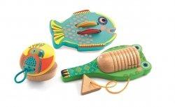 Djeco, zestaw 3 instrumentów,