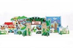 Scratch, mix&play, zestaw życie w Zoo
