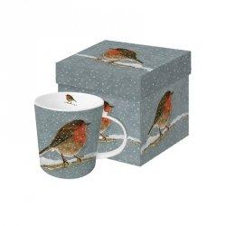 PPD, kubek w prezentowym pudełku rudzik 350ml