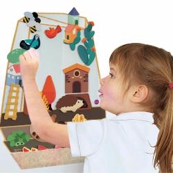 Oribel, zabawka edukacyjna, zaczarowany ogród, verti play