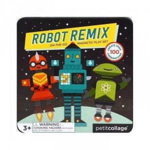 Petit Collage, układanka magnetyczna, roboty