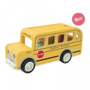 Indigo Jamm, drewniany autobus Benjego,