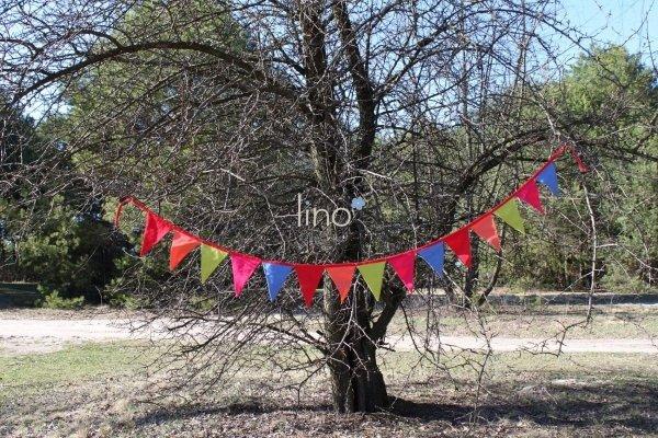 Lino, girlanda Fiesta
