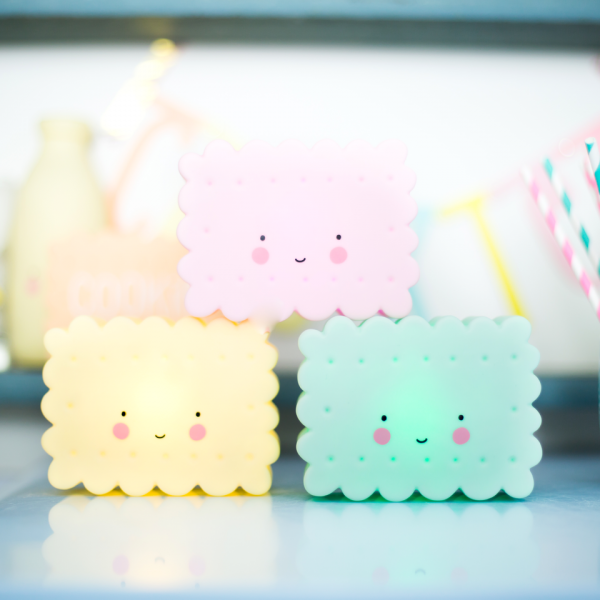 A little lovely company, lampka ledowa ciasteczko miętowe