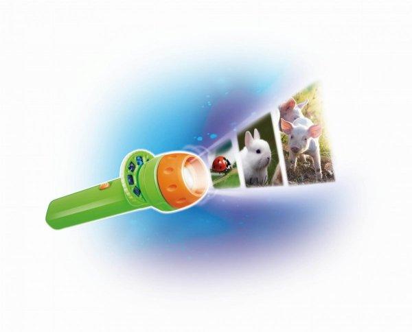 Buki, mini projektor, zwierzęta z farmy, 24 zdjęcia