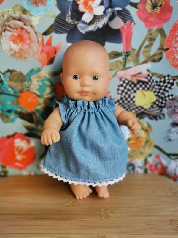 lalka dziewczynka, Europejka, 21cm, Miniland