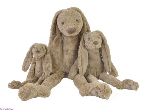 Happy Horse, króliczek Richie, brązowy, 28cm, 38cm lub 58cm