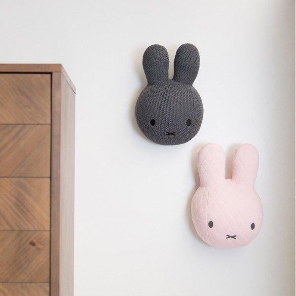 Miffy Tiamo, głowa Miffy na ścianę, szara