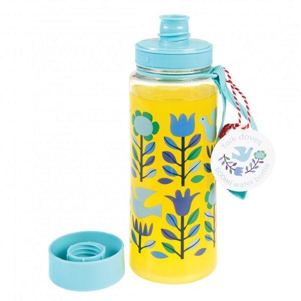 Rex, butelka na wodę, folk doves, 600 ml,