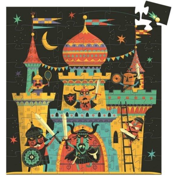 Djeco, puzzle tekturowe zamek