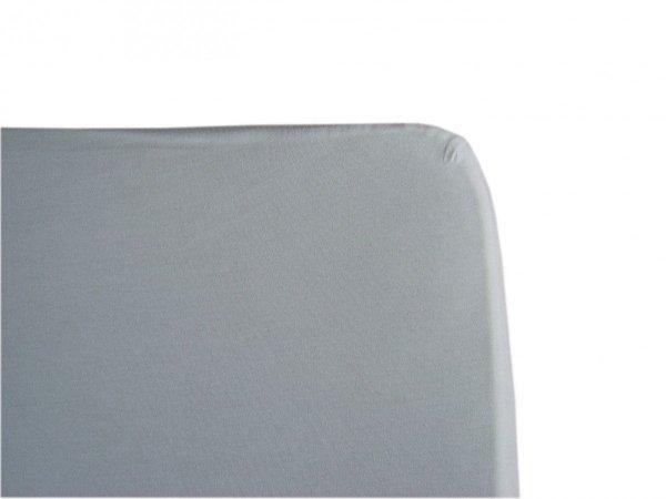 malooni, białe prześcieradło z gumką, 120x60cm, jersey,