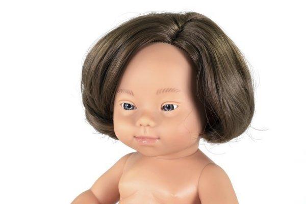 Miniland, lalka dziewczynka DS Europejka 38cm