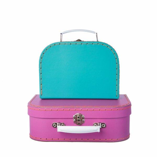 Sassand bell, zesstaw 2 walizeczek, lama