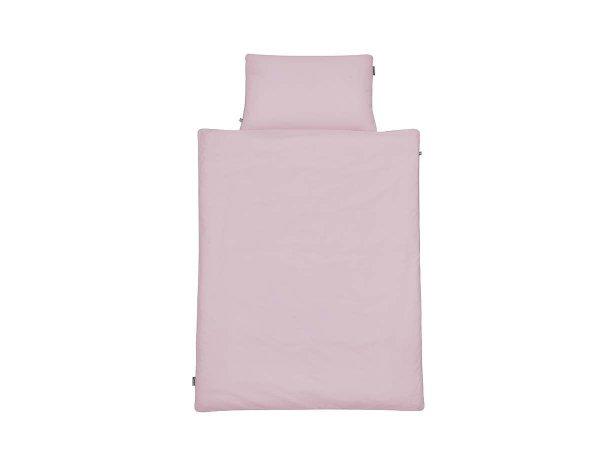 mumla, komplet pościeli basic kolor różowy, różne rozmiary