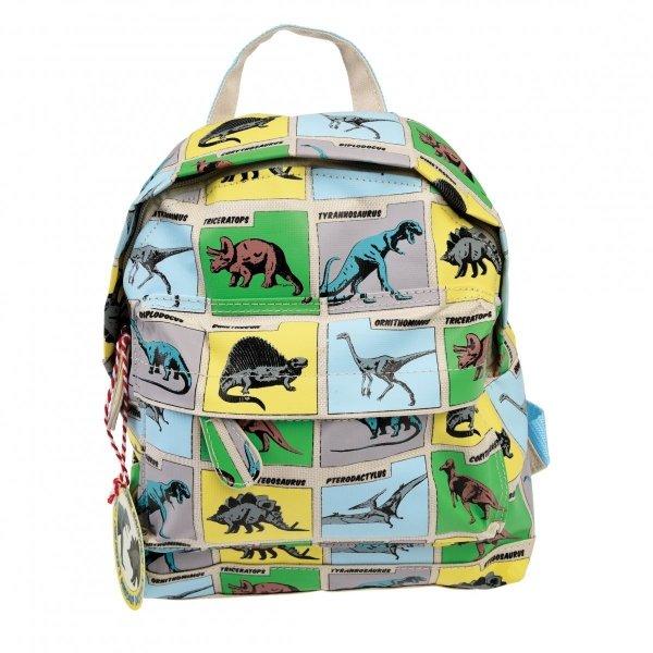 Rex, mały plecaczek, dinozaury