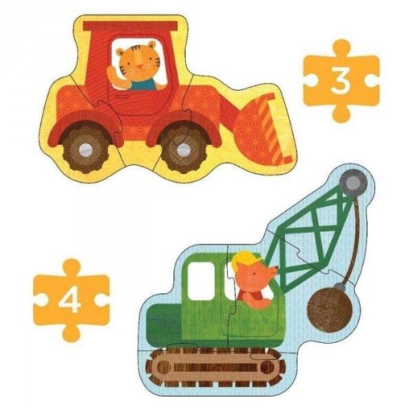 Petit Collage, pierwsze puzzle, konstruktor