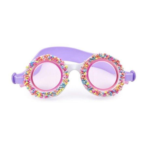 Okulary do pływania, Posypka Cukrowa, fioletowe,  Bling2O